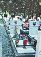 Генуя. Кладбище Стальено. Могила Ф.А. Полетаева